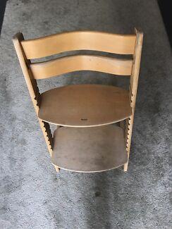 High chair seat