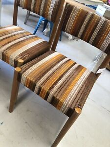 Midcentury retro dining chairs Sunshine North Brimbank Area Preview