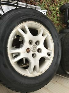 215/65r16 Firestone winter tires and alloy rims