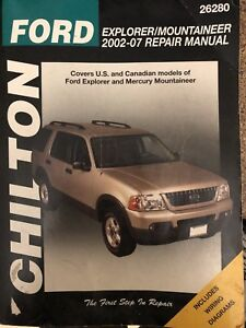 Ford Explorer / mountaineer