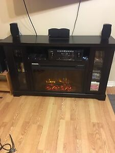 Kingswood media electric fireplace