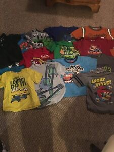 14 boys T-shirts all size 5t