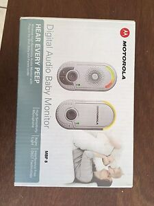 New Motorola Audio Baby Monitor Brighton East Bayside Area Preview