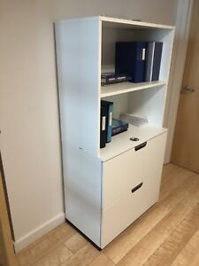 IKEA Filing Cabinet with Shelves