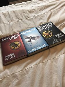 SELLING HUNGER GAMES BOOKS!