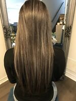 HAIR EXTENSIONS - STARTING @ $275Tape Ins, Microbeading & Fusion