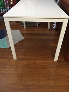 Dining table / white with shadow line NEW Port Noarlunga Morphett Vale Area Preview