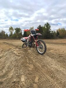 2002 crf450r trade for certified car