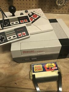 Nintendo NES - vintage - console and games