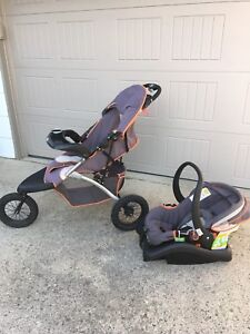 Free Jogger with Car Seat and Base