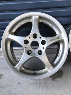 16x7 SSR (Speedstar Racing) Integral A2 Alloy Wheels