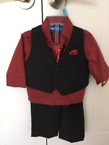 Toddler Boy 3-Piece Suit LIKE-NEW! (6-9 months)