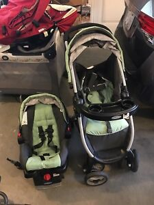 Graco FastAction Fold Travel System car seats&stroller