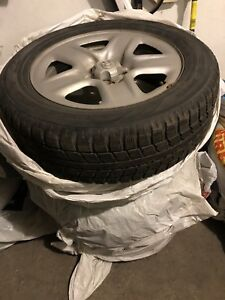 Toyota RAV4 2012 Original Rim + winter tire (good for 1 season)
