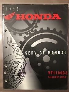 Honda VT1100C3 Shadow Aero OEM Service Manual