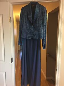 Long dress with jacket