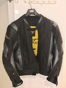 RST leather motorcycle jacket Lutwyche Brisbane North East Preview