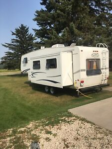 2005 trail cruise 5th wheel trailer