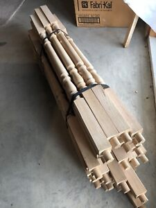 Wooden Spindles for Sale ( 30 Pieces )