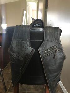 Harley Davidson riding vest