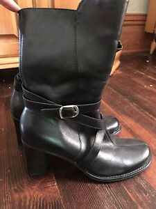 Women's Leather Boots Kenneth Cole