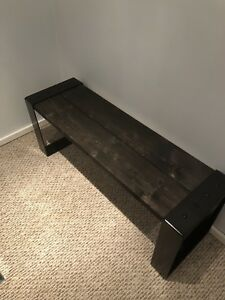 Locally made entry way benches