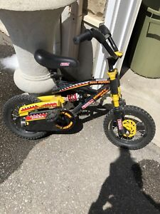 Little boys Tonka bike