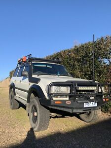 Toyota Landcruiser 80 series ls2 with a lot of new parts