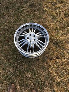 20 inch rims 2 with tires