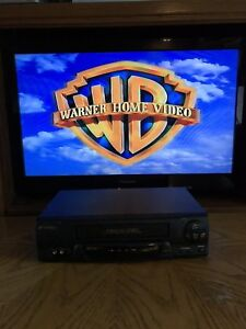 SANSUI VHF6012A VCR VHS Player NO Remote works perfectly.
