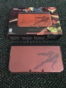 LIMITED EDITION Samus Returns New 3DS XL + Amiibo + Game