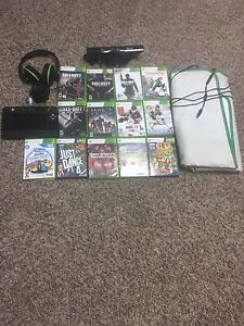 Xbox games with turtle beach head set and Xbox Kinect
