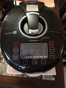 Kuradori 5L stainless steel black pressure multi cooker