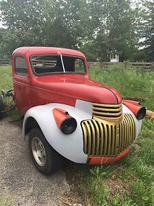 Early 47 Chevy pick up