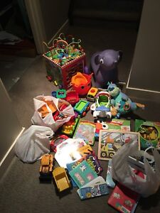 Miscellaneous toys ages 1-4