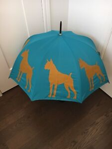 Large Boxer dog umbrella