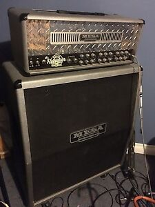 Mesa dual rectifier Solo head tube amp