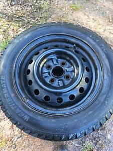 14 inch Rims, 4x100 bolt pattern, Great shape, Great price!