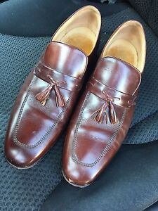 Contemporary Series Leather - Brown Dress Shoes - Size 12