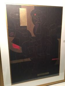 Abstract art: Susan Hartenhoff - Ebony Sublime II Willagee Melville Area Preview