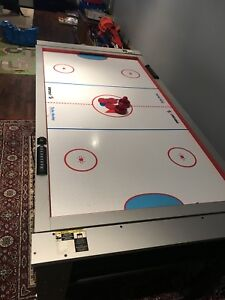 6ft x 3ft kids pool & airhockey table. (32inches high)