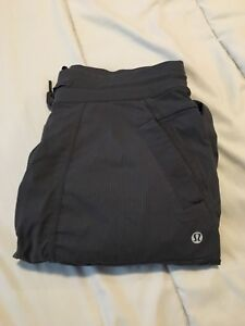 Grey Lululemon studio pants unlined