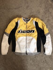 Icon Overlord Motorcycle Jacket - Small