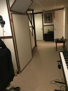 Furnished Basement for rent without kitchen