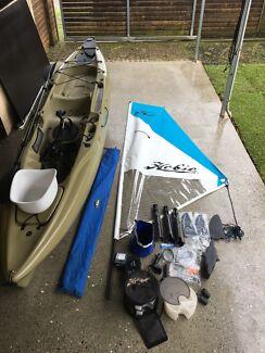 Hobie Outback mirage drive kayak