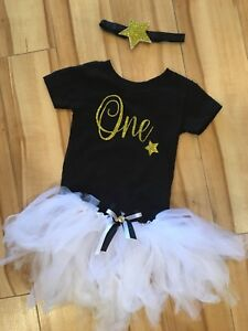 Girls 1st Birthday Outfit