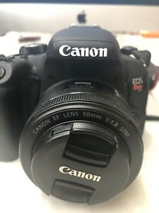 Canon T7i with 3 lens