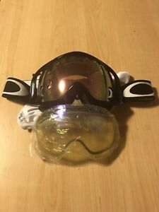 Oakley goggles with extra lenses