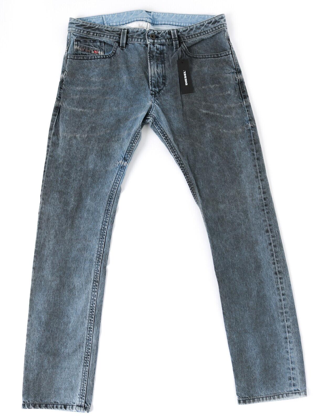 Diesel Herren Slim Fit Jeans Hose   THAVAR 008XP   Prototyp  *RAR*  W33 L32
