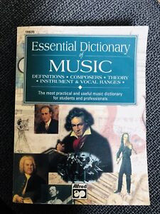 Essential Dictionary of Music - pocket book